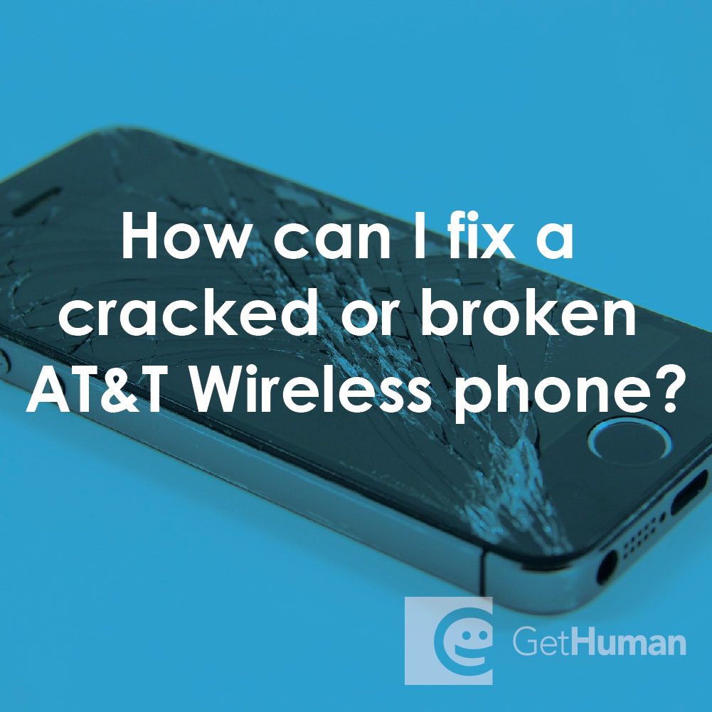 How Can I Fix a Cracked or Broken At&t Wireless Phone?