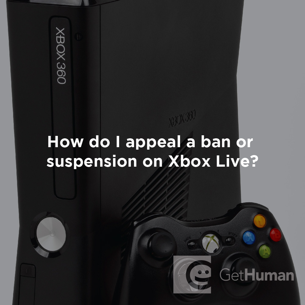 How Do I Appeal a Ban or Suspension on Xbox Live?
