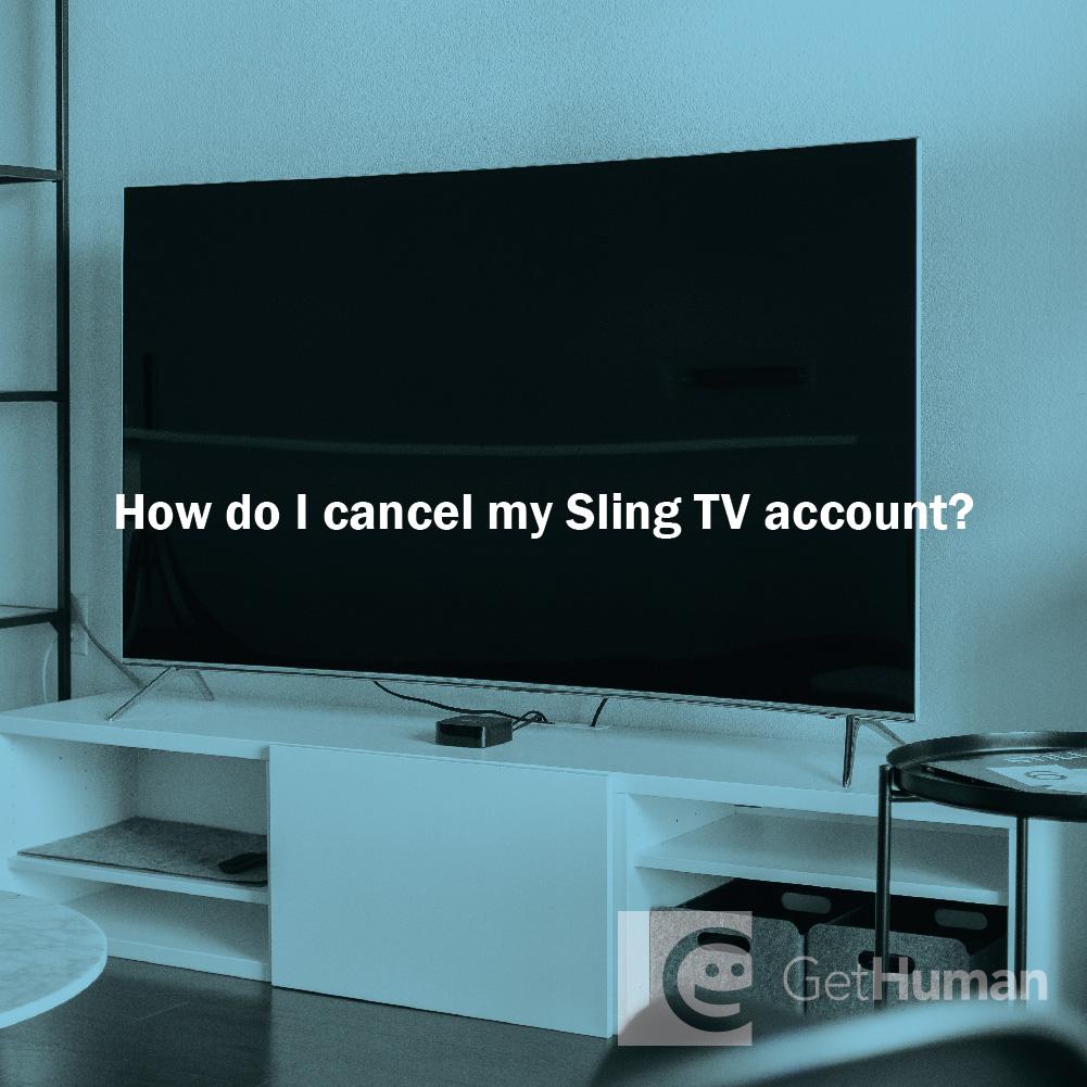How Do I Cancel Sling TV on Amazon?