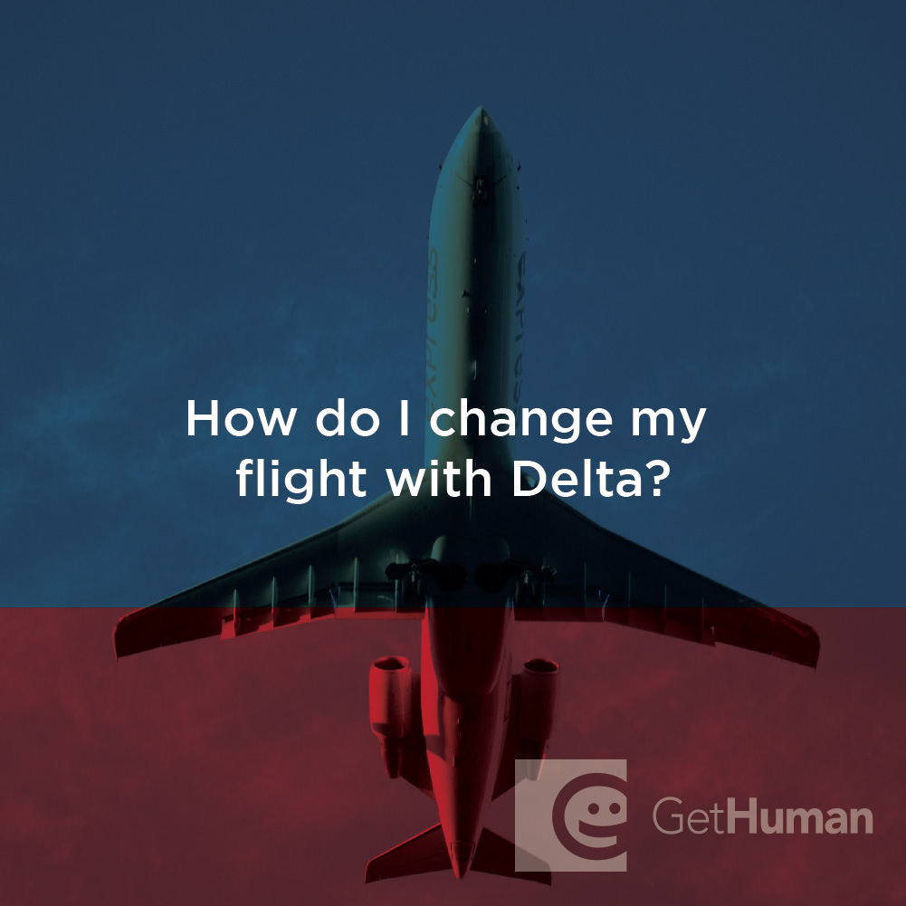 How Do I Change My Flight with Delta?