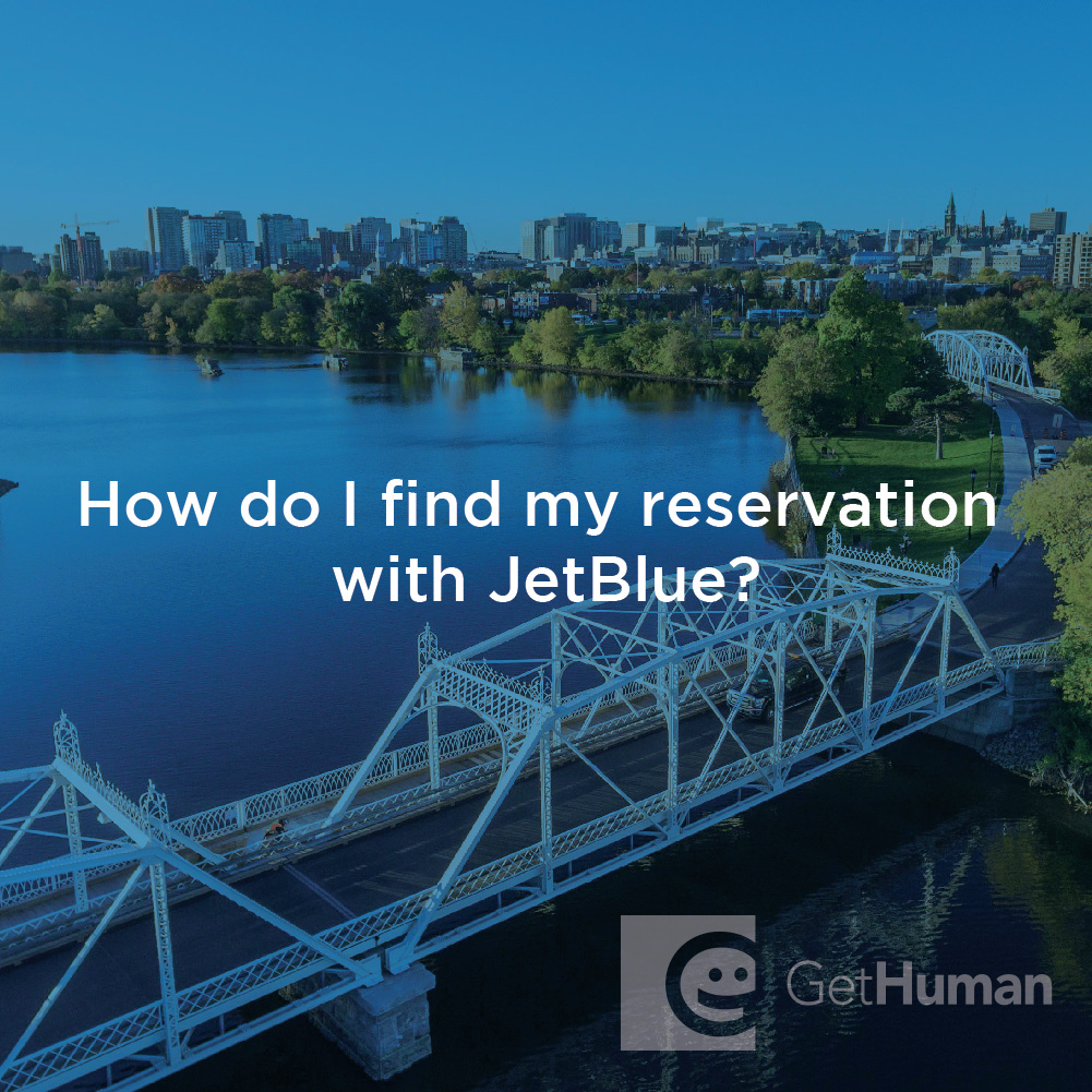 How Do I Find My Reservation with Jetblue?
