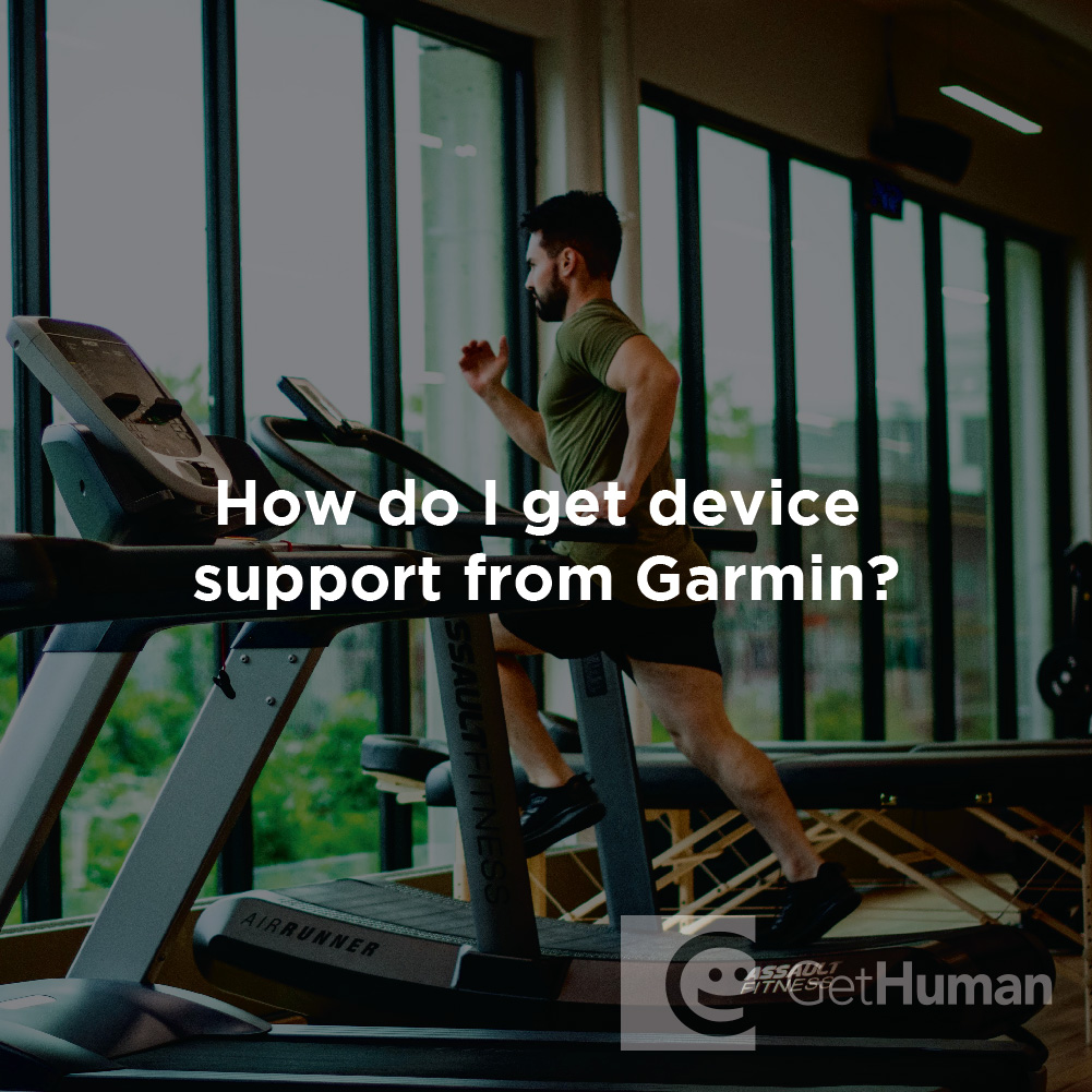 How Do I Get Device Support from Garmin?