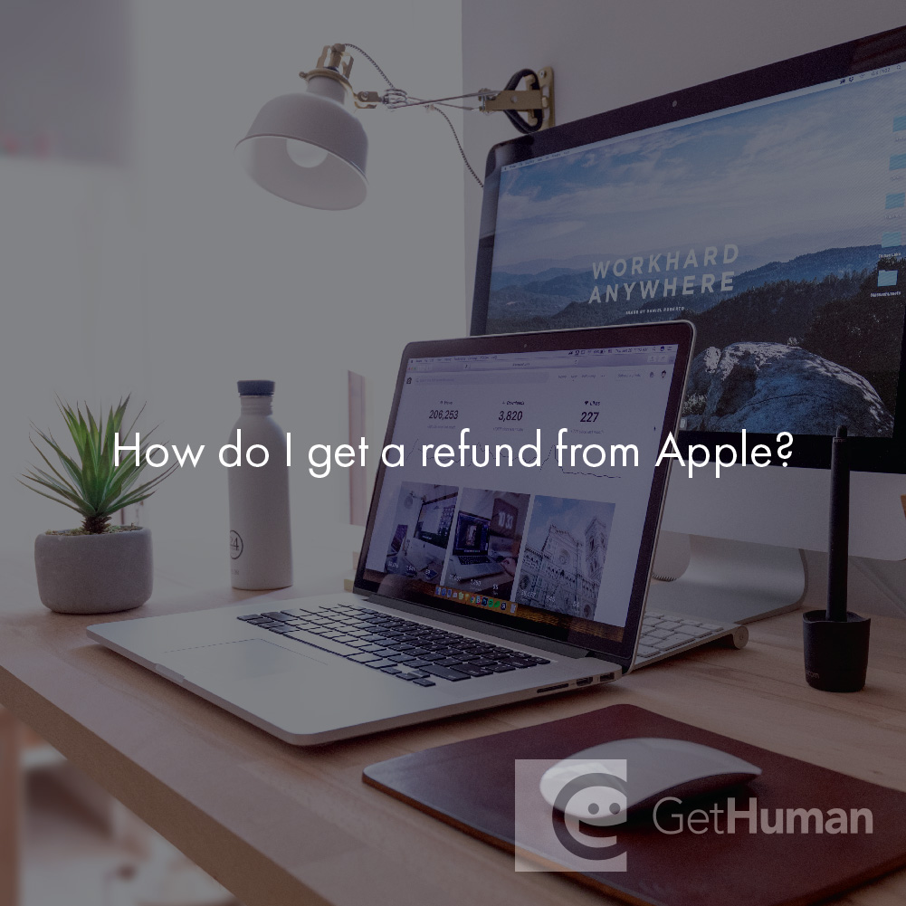How Do I Get a Refund from Apple?