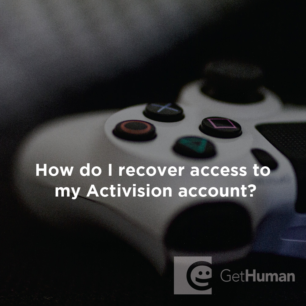 How Do I Recover Access to My Activision Account?
