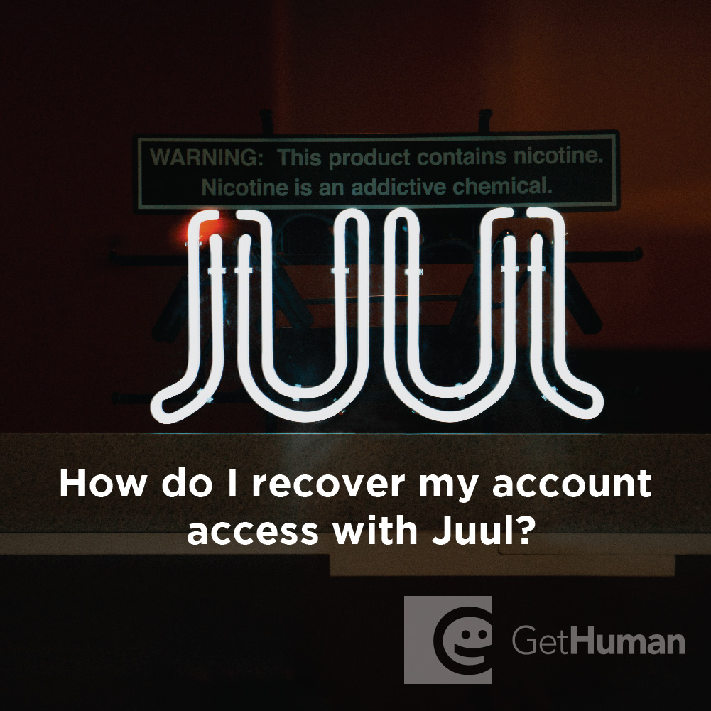 How Do I Recover My Account Access with Juul?