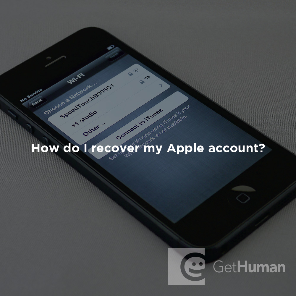 How Do I Recover My Apple Account?
