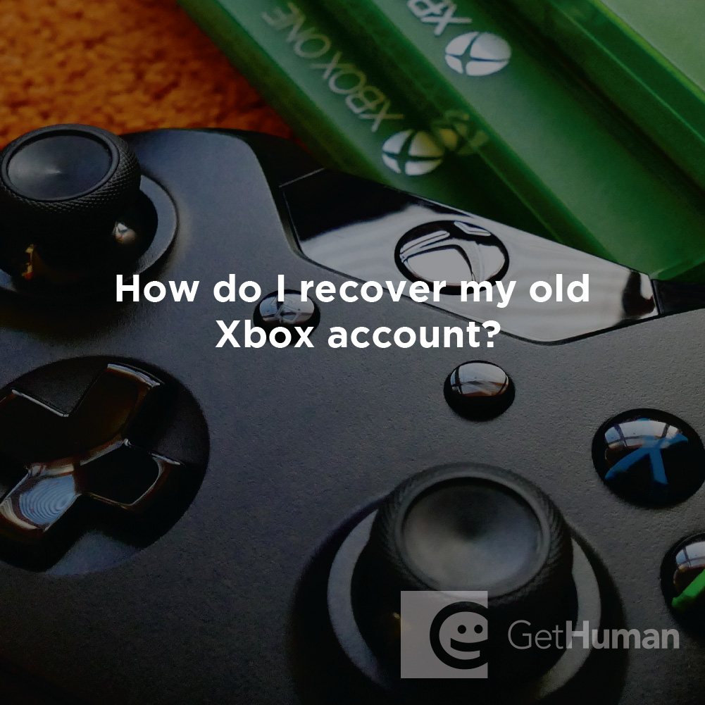 How Do I Recover My Old Xbox Account?
