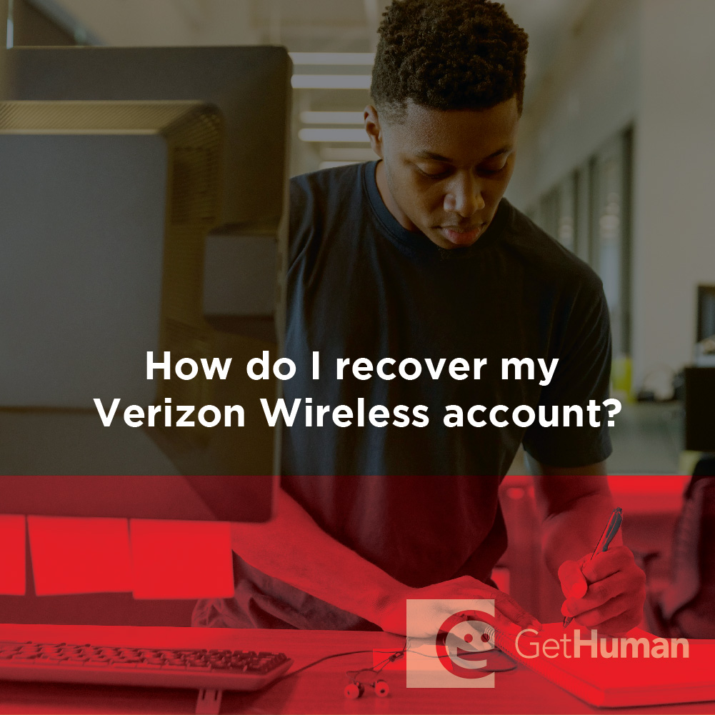 How Do I Recover My Verizon Wireless Account?
