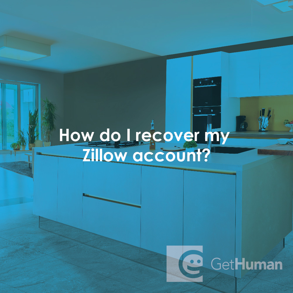 How Do I Recover My Zillow Account?