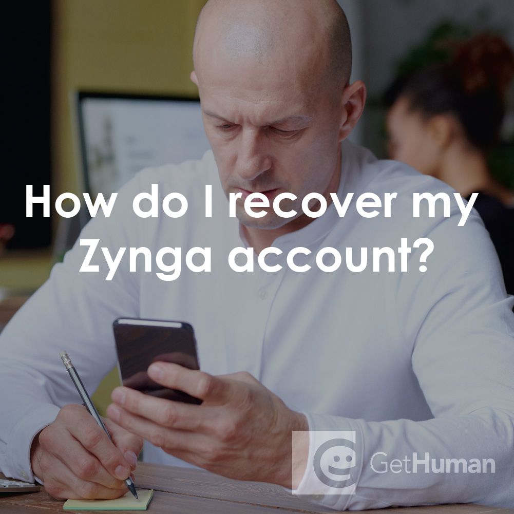 How Do I Recover My Zynga Account?
