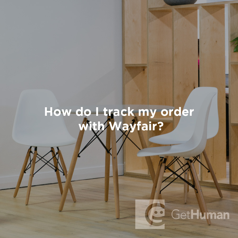 How Do I Track My Order with Wayfair?