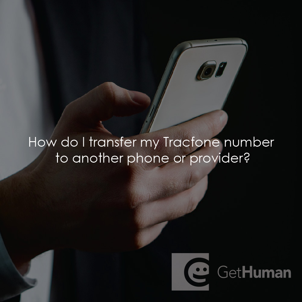How Do I Transfer My Tracfone Number To Another Phone Or