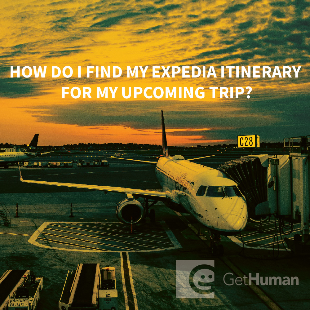 How do I Find My Expedia Itinerary for My Upcoming Trip?