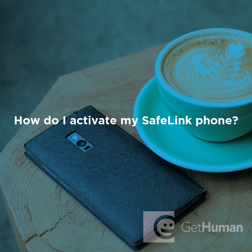 How do I activate my SafeLink phone?
