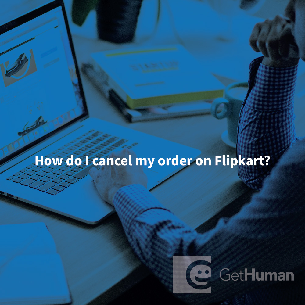 How do I cancel my order on Flipkart?