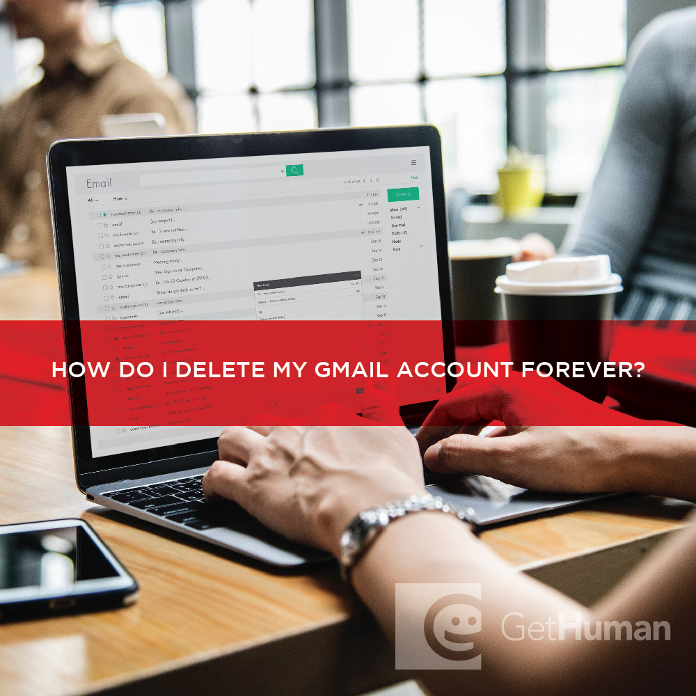 How do I delete my Gmail account forever?
