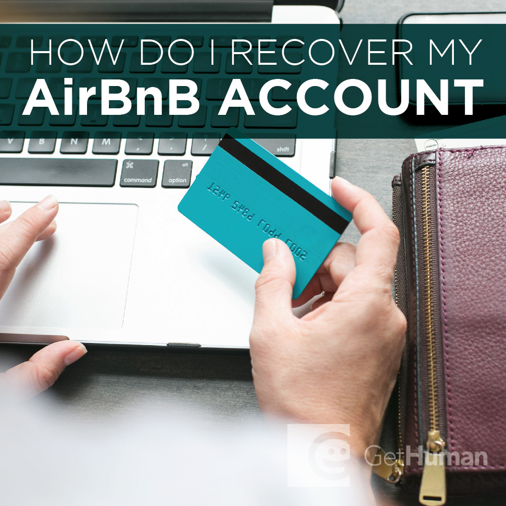How do I recover my AirBnB account?