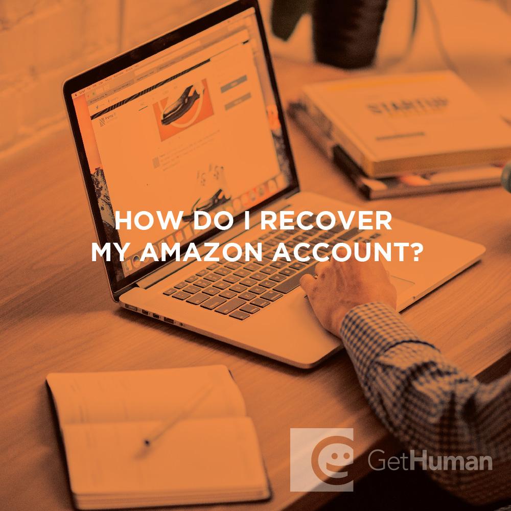 How do I recover my Amazon account?