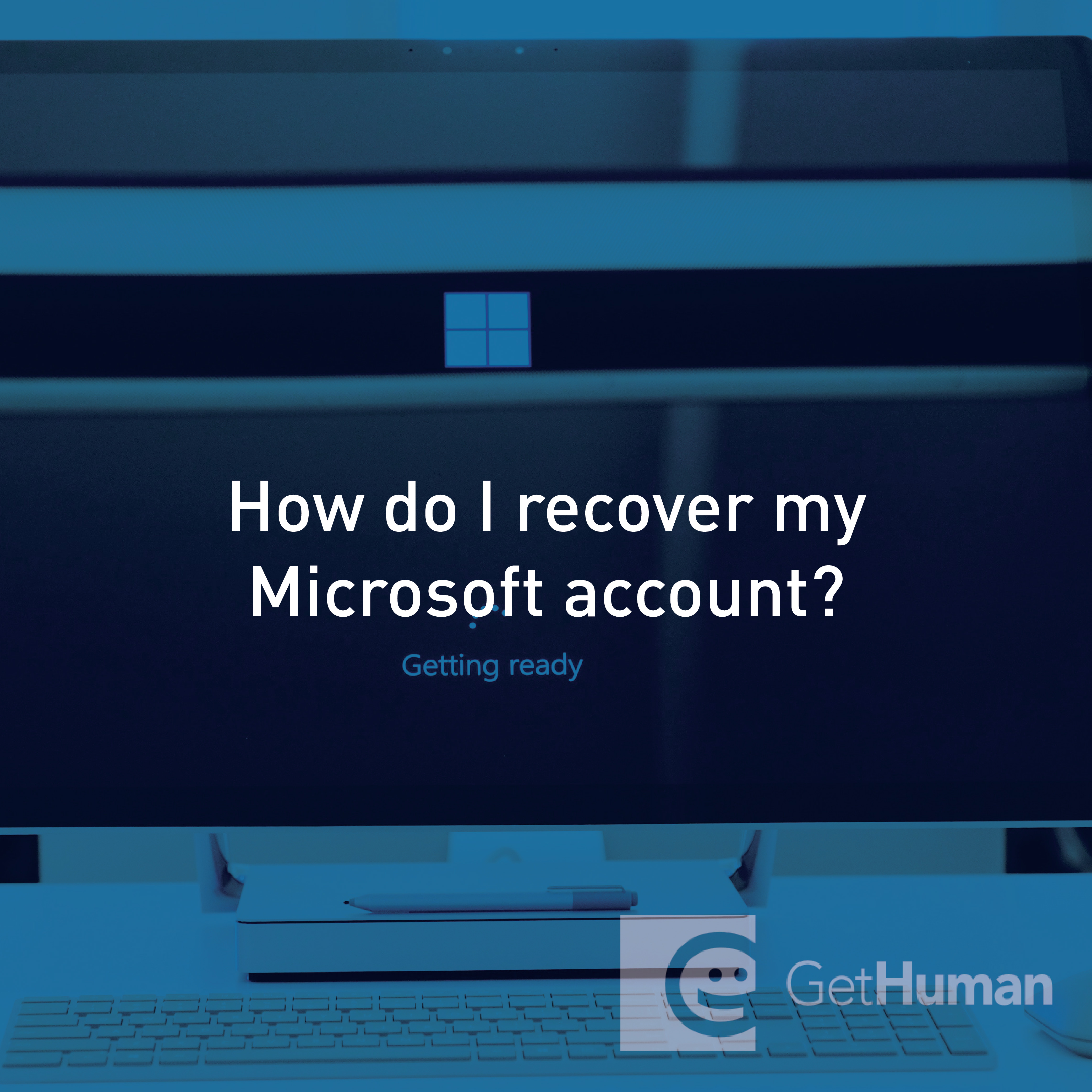 How do I recover my Microsoft account?