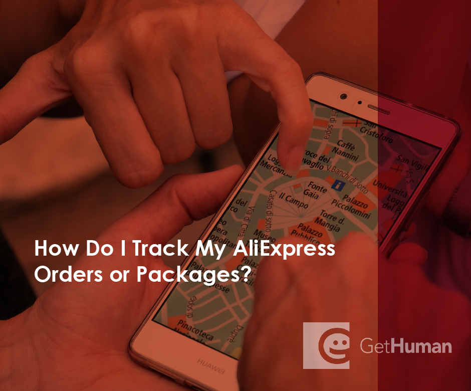 How do I track my AliExpress orders or packages?