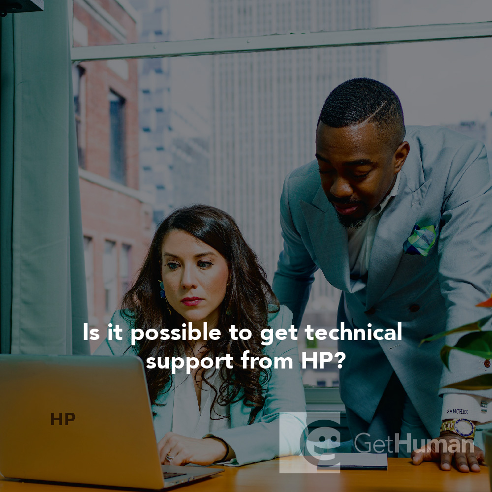 Is it possible to get technical support from HP?