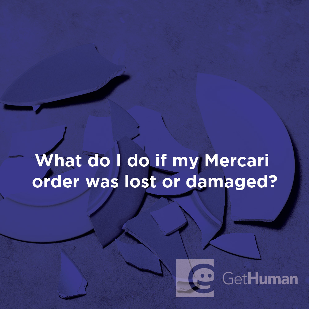 What Do I Do If My Mercari Order Was Lost or Damaged?