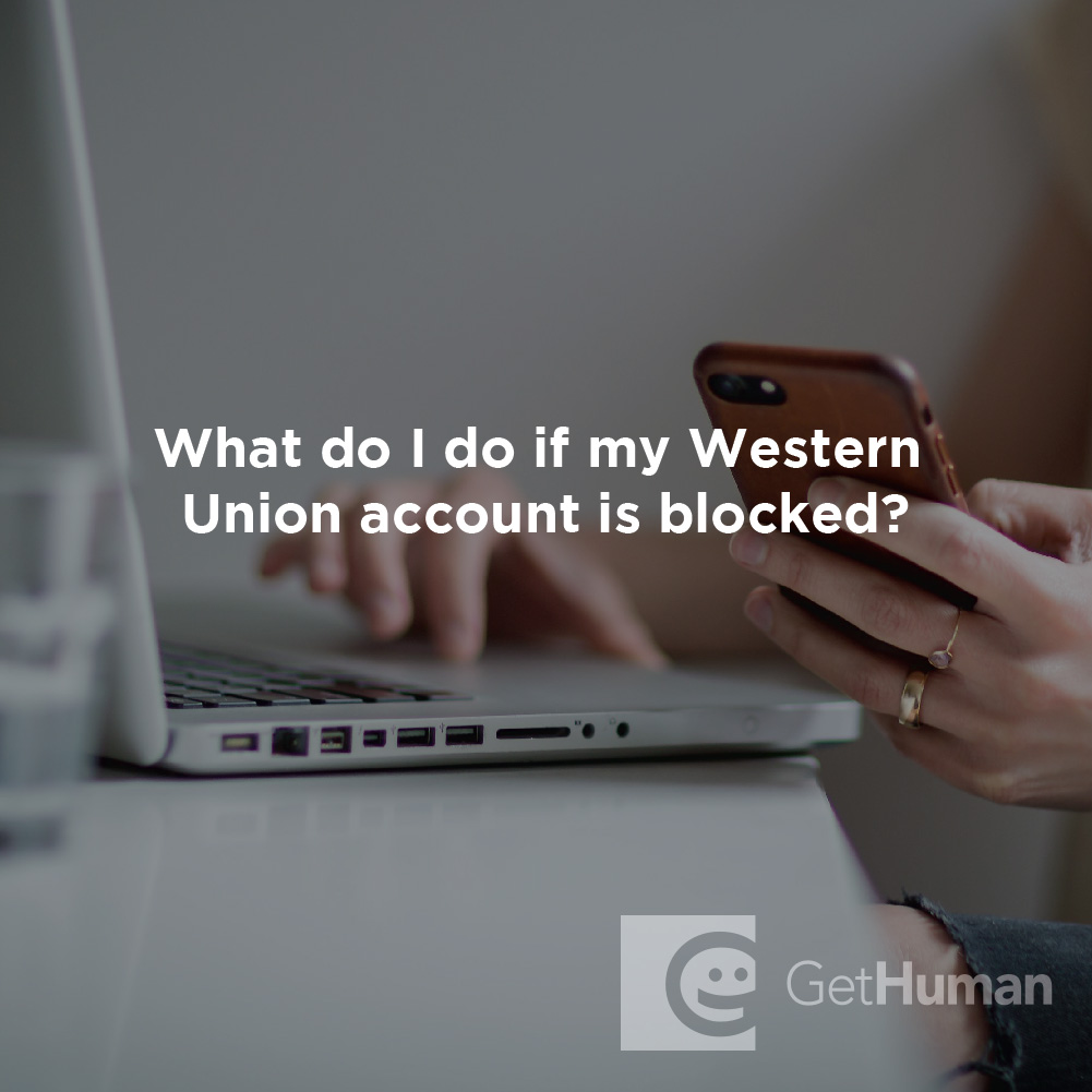 What Do I Do If My Western Union Account Is Blocked?