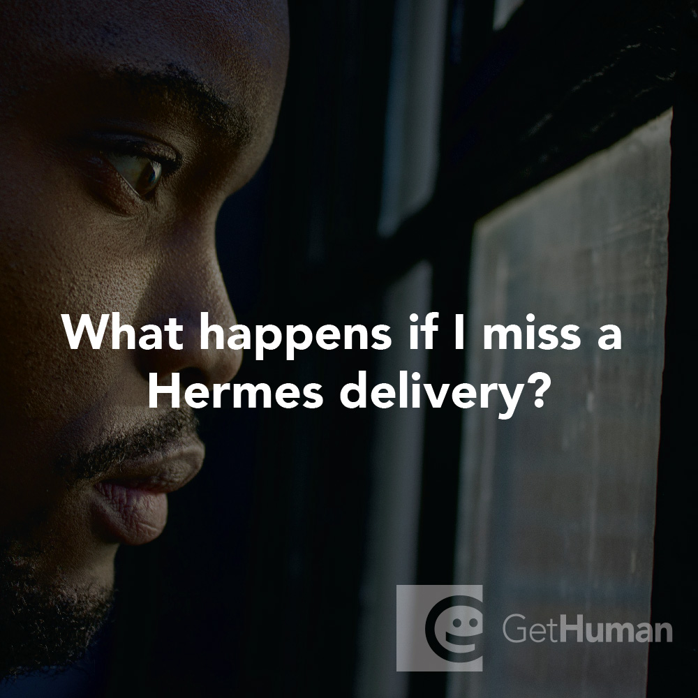 What happens if I miss a Hermes delivery?