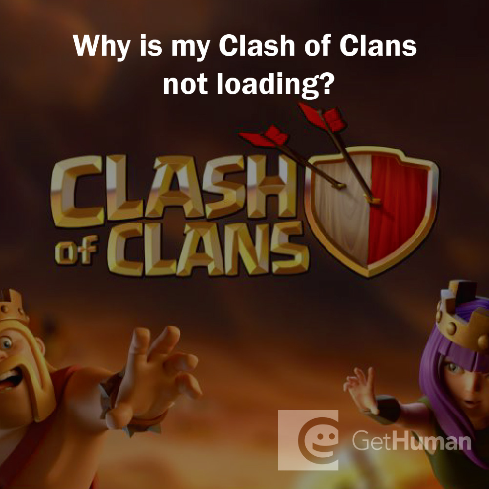Why is my Clash of Clans not loading?